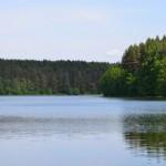 Nad jeziorem Jelenie