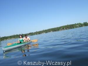 Kajaki kaszuby - jeziora Wdzydzkie