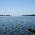 Kajakiem po jeziorze