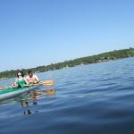 Kajakiem po jeziorach